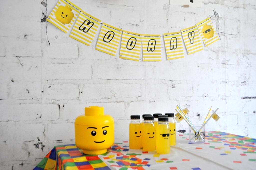 Favoriete Een lego feestje thuis vieren? Ideeën voor je legofeestje #JQ56